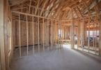 Wood Frame Living Room - Abilene New Construction